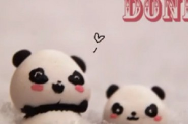 Faire un Panda en Fimo