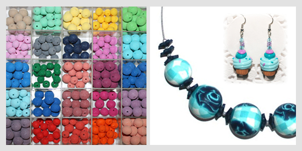Comment creer un collier en fimo