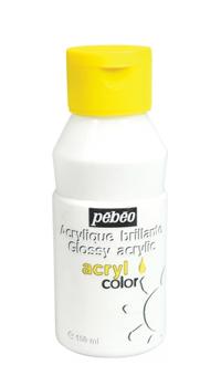 Peinture acrylique pour porcelaine froide
