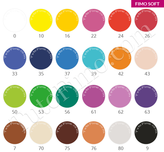 guide couleur fimo et p tes polym res couleurs p te fimo. Black Bedroom Furniture Sets. Home Design Ideas
