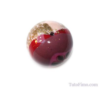 Perle originale en Fimo