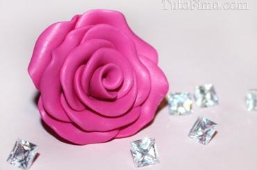 Faire une Rose en Fimo – Tuto Fimo facile