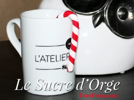 Sucre d'orge Fimo – Tuto DIY