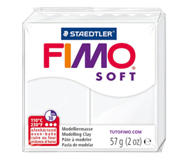 Pate Fimo Soft blanc