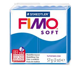 Pate Fimo Soft bleu pacifique