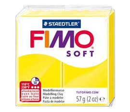 Pate Fimo Soft jaune citron