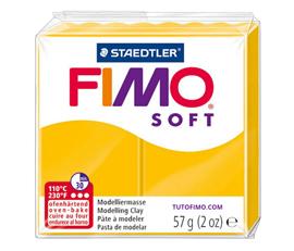 Pate Fimo Soft jaune tournesol