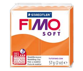 Pate Fimo Soft mandarine