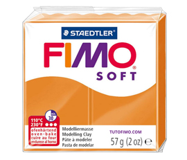 Pate Fimo Soft orange clair