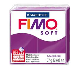 Pate Fimo Soft pourpre