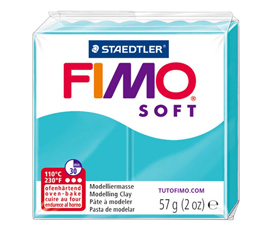 Pate Fimo Soft turquoise menthe