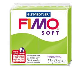 Pate Fimo Soft vert pomme
