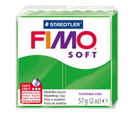 Pate Fimo Soft vert tropical