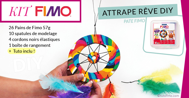 Kit pate Fimo attrape reve